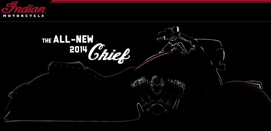 Indian Chief 2014 model